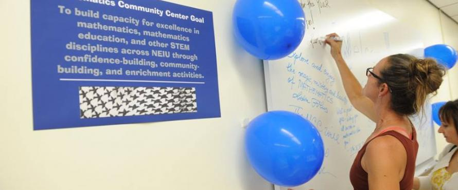 Grand opening of Math Community Center
