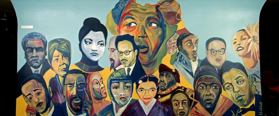 African American art-Pedroso Center