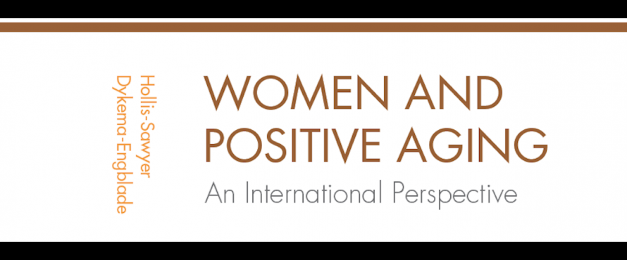 """Women and Positive Aging: An International Perspective"" book cover"