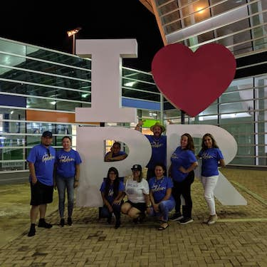 Daniel L. Goodwin College of Education faculty members Ana Gil Garcia and Gabriel Cortez accompanied 10 students in the Educational Leadership: Higher Education master's degree program on a 10-day trip Puerto Rico earlier this month