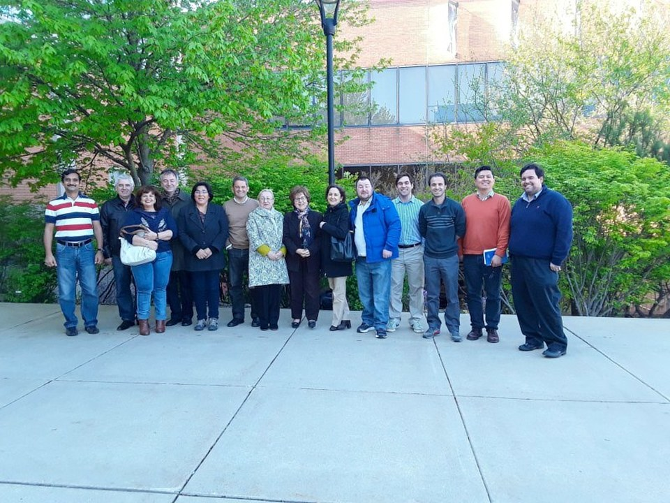 Participants at the 11th Math Modeling Workshop