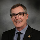 Portrait of Mark McKernin, Acting Vice Provost