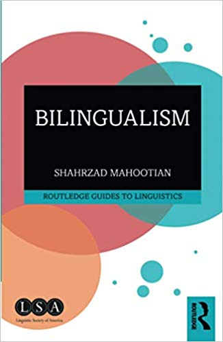 "Image of the cover of Dr. Mahootian's book, ""Bilingualism"""