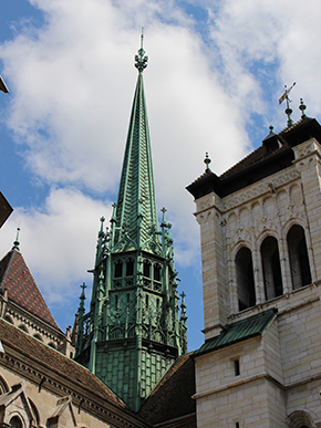 Reformer John Calvin preached at this cathedral in the 16th Century A.D.