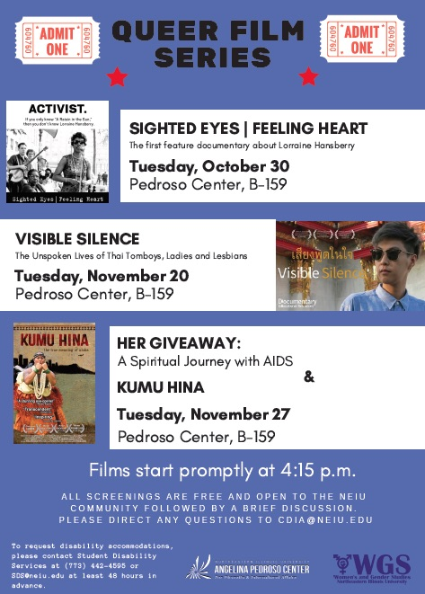 Queer Film Series Flyer