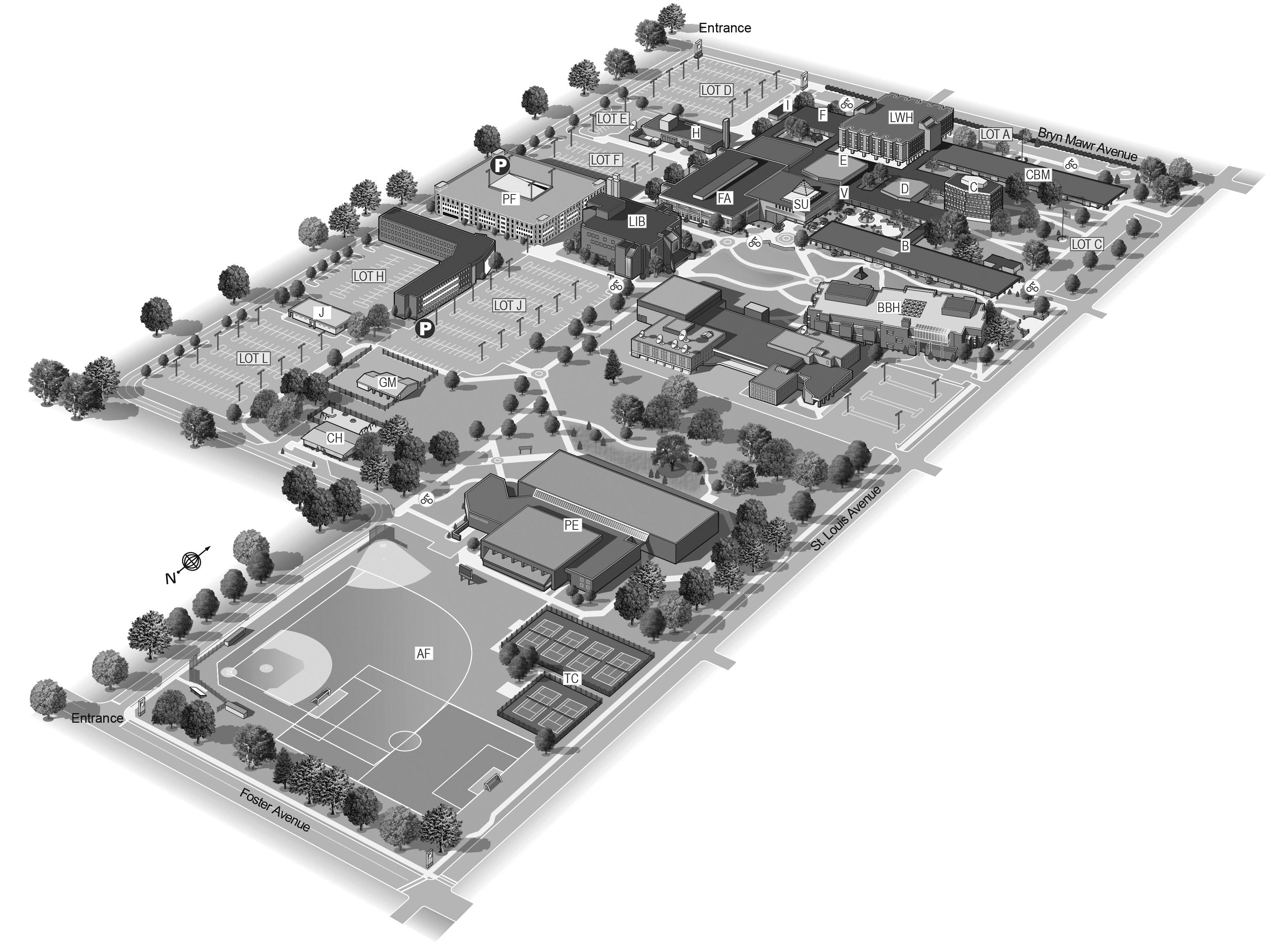 University Maps | Northeastern Illinois University
