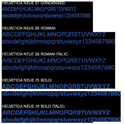 University Typography | Northeastern Illinois University