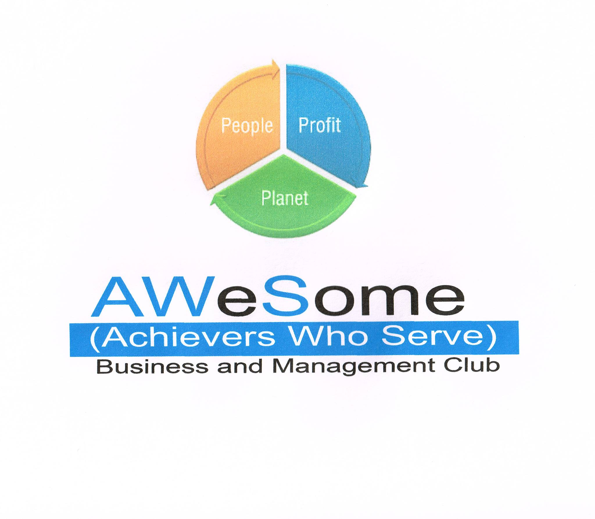 Achievers Who Serve - AWeSome Business and Management Club