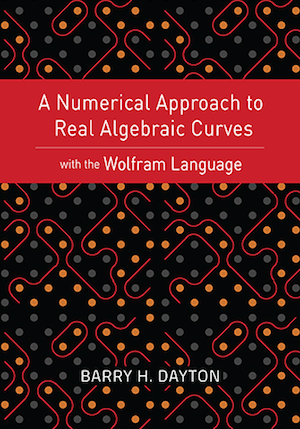 "Book cover for ""A Numerical Approach to Real Algebraic Curves"""