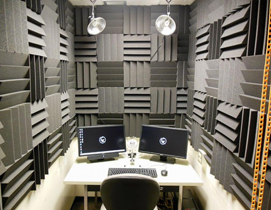 Image of the multimedia recording studio space
