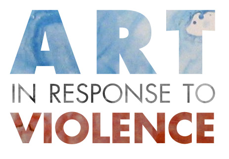 Art in Response to Violence logo