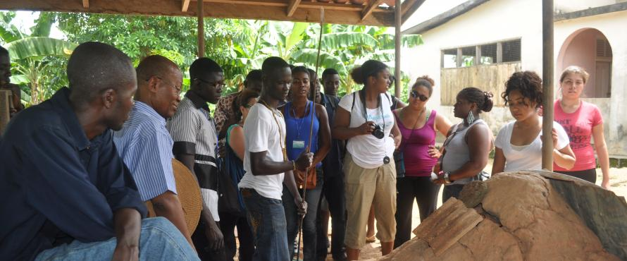 Ghana Cultural Exchange Students exploring and engaging with the world around them.