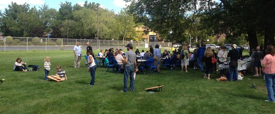 Department Picnic and Potluck Event
