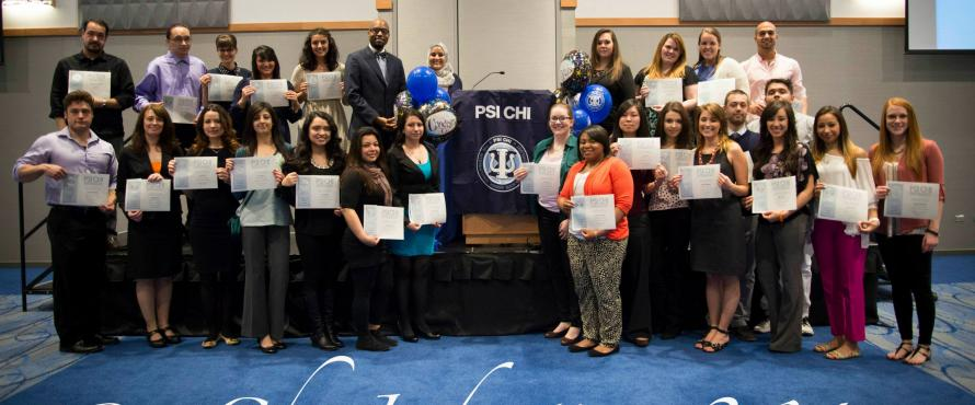 NEIU Psychology Psi Chi Induction 2014     Photo: Alejandro Monroy