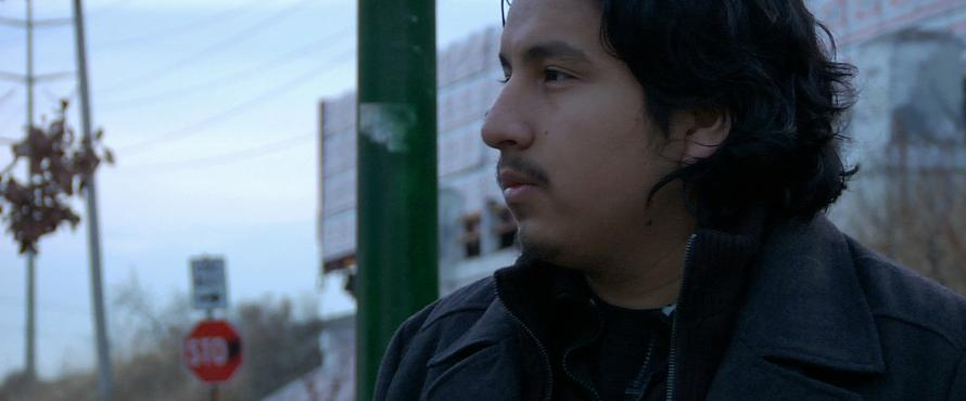 "Roque Sanchez in ""The Homestretch"""
