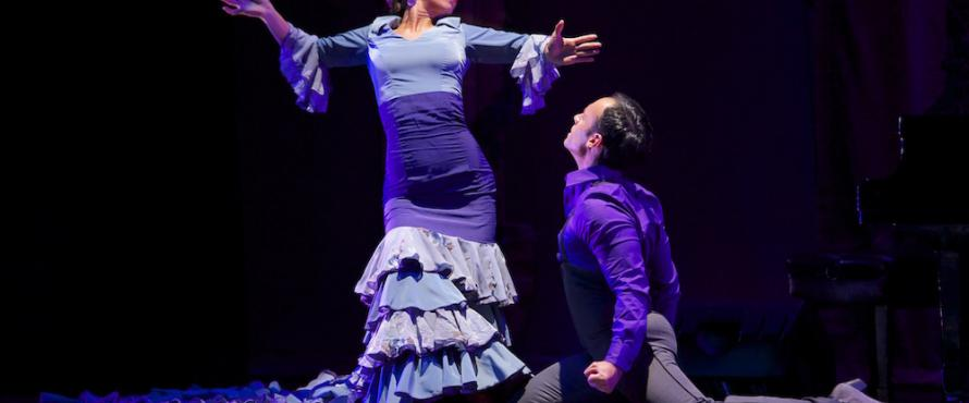 "Scene from Ensemble Espanol's ""Flamenco-Passion"""