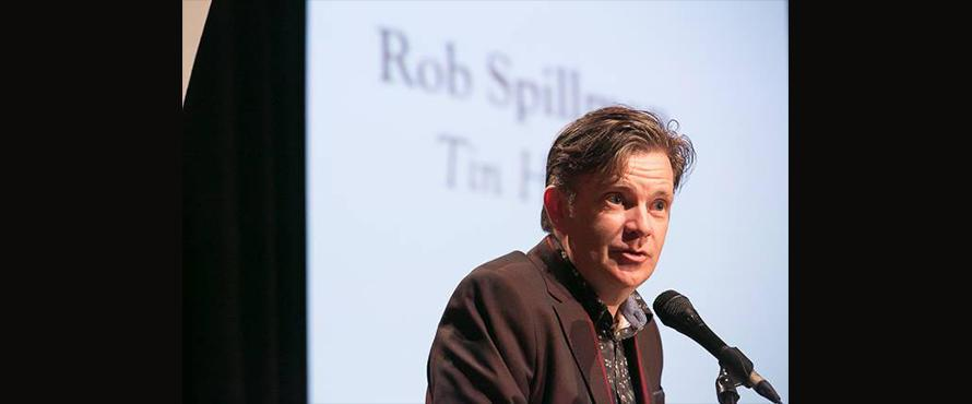 Author Rob Spillman