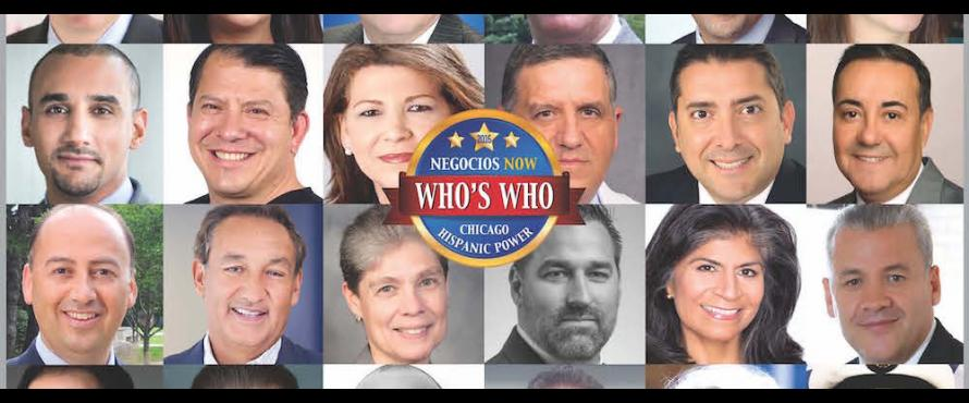 Cover of Negocios Now's 2016 Who's Who in Hispanic Chicago issue