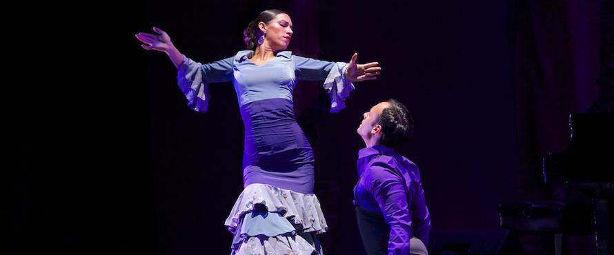 Ensemble Espanol principal dancers Claudia Pizarro and Jose Torres