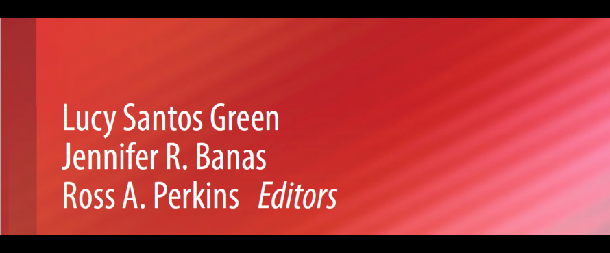 Partial book cover listing authors' names: Green, Banas and Perkins