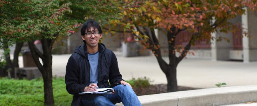 Northeastern's 2017 Lincoln Academy Student Laureate Cesar Bustos