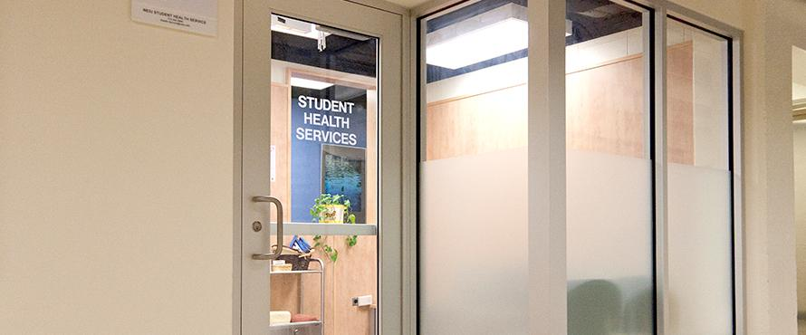 Student Health Services office