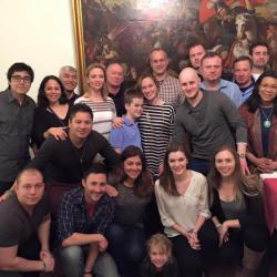 2016 Study Tour group in Budapest