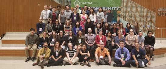 Many of the 47 students and seven faculty and staff members who attended 2018 National Diversity in STEM Conference